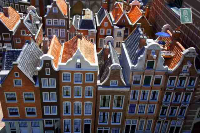 Typical Dutch houses - Madurodam
