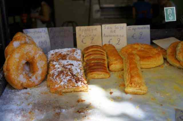 Delicious pastries in Rethymno