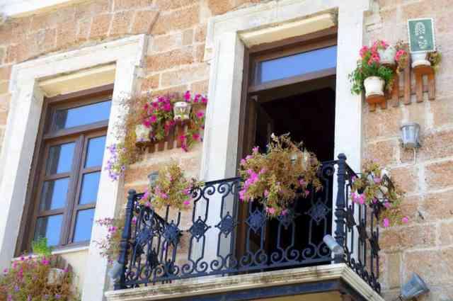 Lovely balcony in Chania
