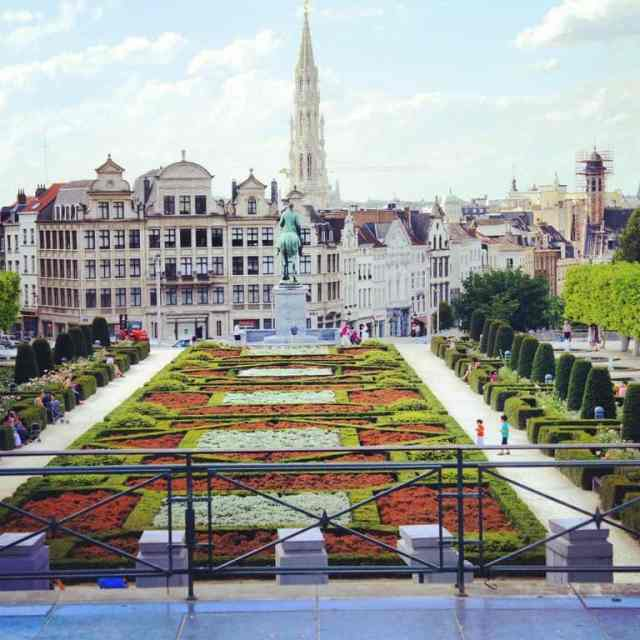 City center of Brussels