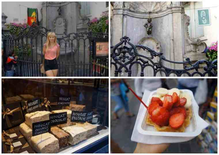 Chocolate, waffle, Manneken Pis - Brussels, I'm back