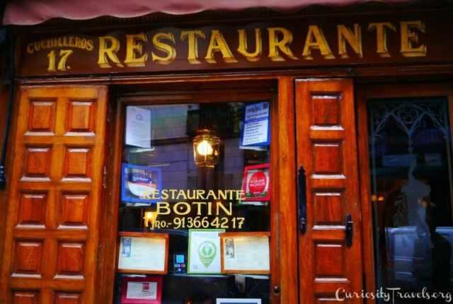 Botin- the Oldest restaurant