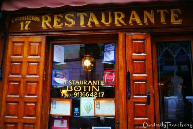 Botin- the Oldest restaurant
