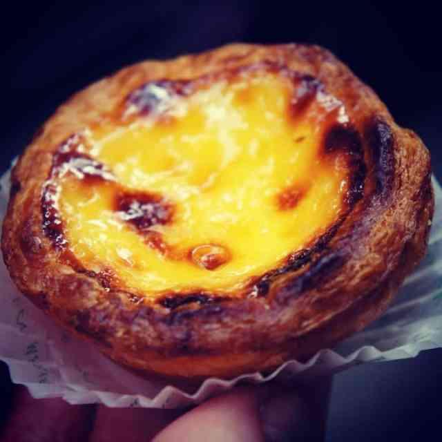 Delicious egg tart