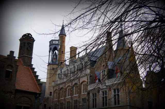 Bruges church