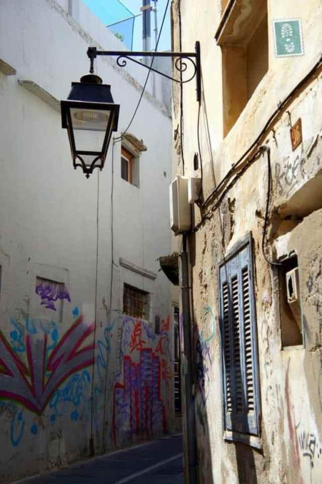 Narrow streets of Rethymno