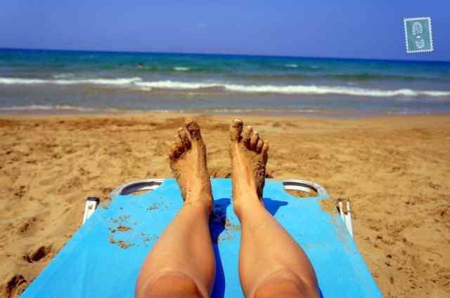 A beach in Rethymno
