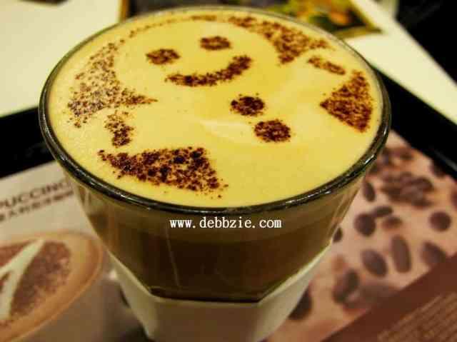 Gingerbread latte from Hong Kong