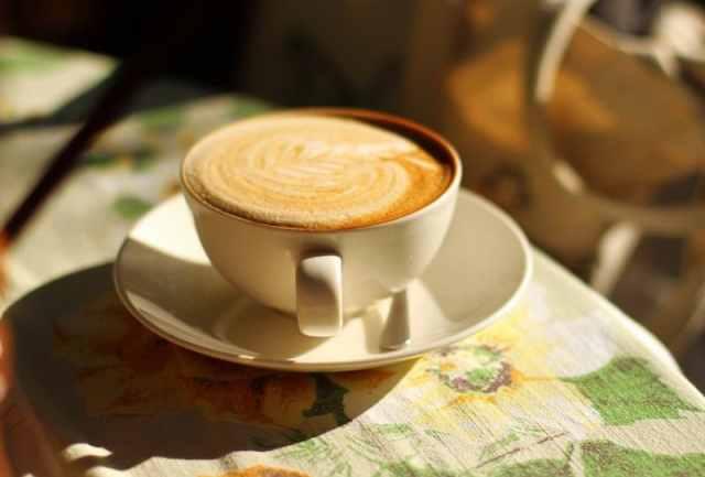 Delicious coffee in the Cape Town sunshine