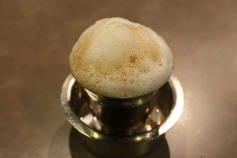 A cup of Indian coffee