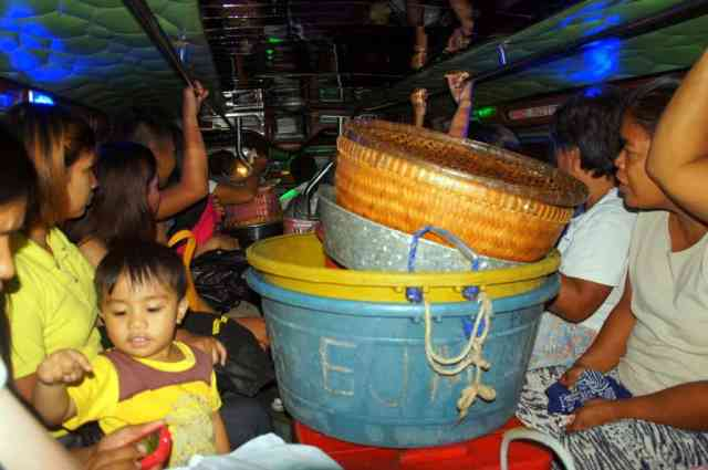 Jeepney many people