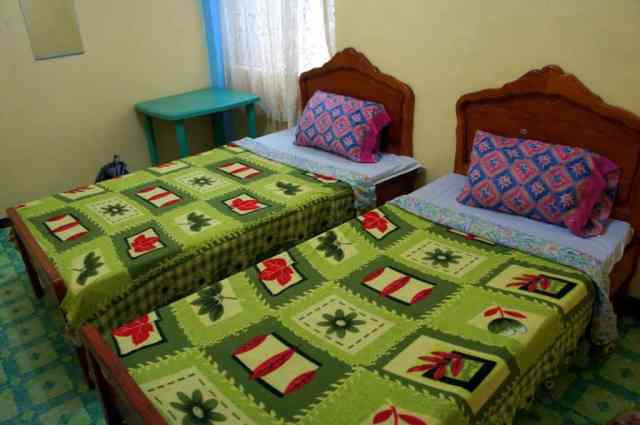 Hostel room in Banaue