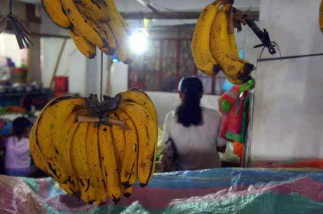 Fruit market in Banaue