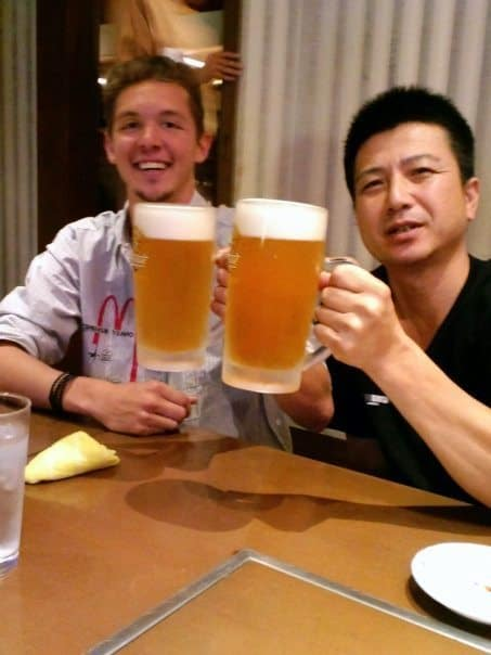 Beer from Japan