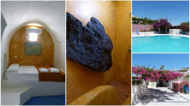 Collage Santorini hostel