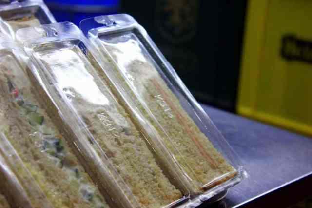 Take away sandwich