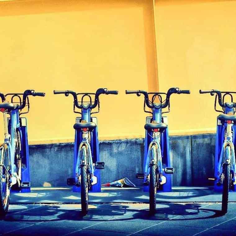 Random bikes in Melbourne