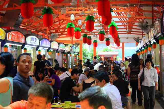 Hawker Center at Maxwell Road, Singapore