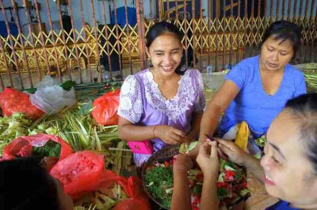Indonesian girl smiling