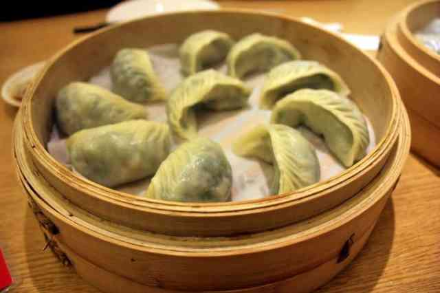 Delicious dumplings from Din Tai Fung