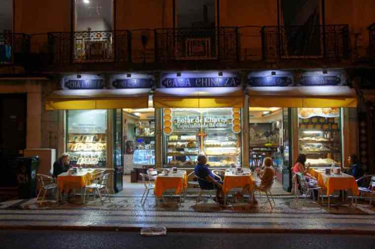 Pastry shop in Lisbon
