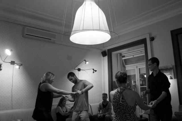 Swing night at Goodmorning Hostel