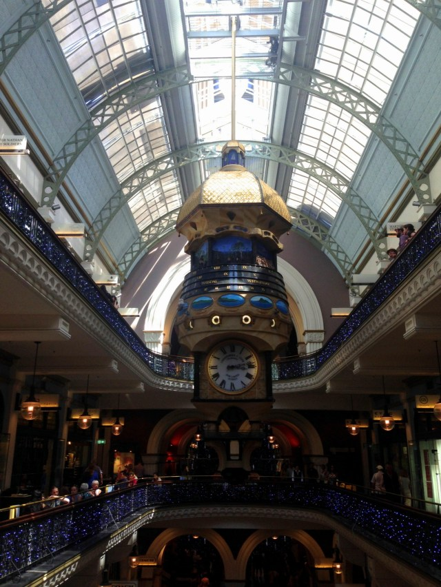 Interior of the Queen Victoria Building