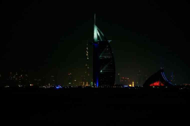 The Burj Khalifa and the Burj Al Arab