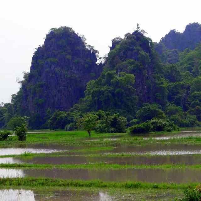 Myanmar landscape