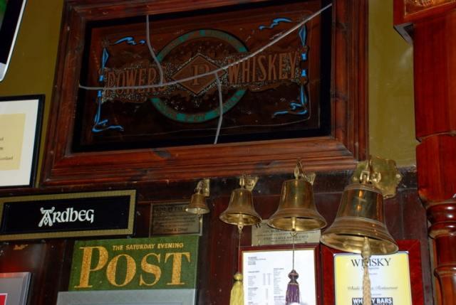 whisky bar at royal mile museum
