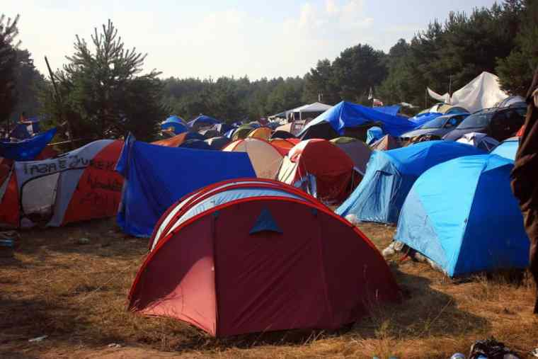 Woodstock tents
