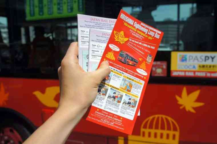 Hiroshima Sightseeing Loop Bus Brochure