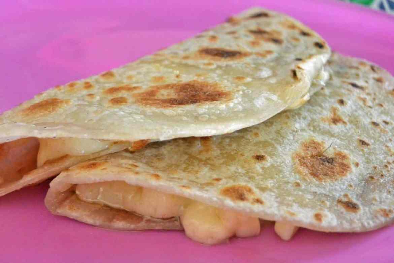 Flour Tortilla Cheese Quesadillas