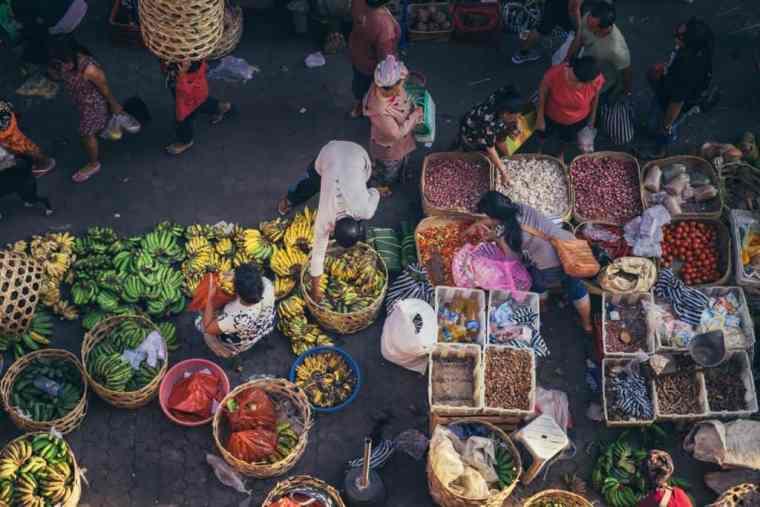 Ubud street scene