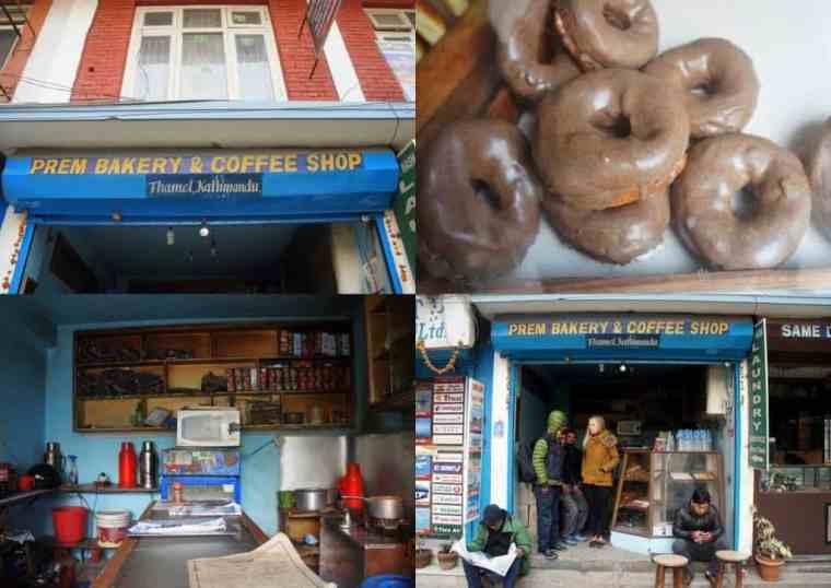 Prem Bakery & Coffee Shop.