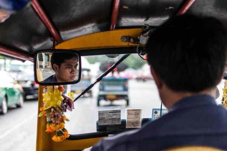 Tuk Tuk Driver Credit Mark Fischer