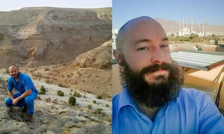 dave of baldpacker in yemen