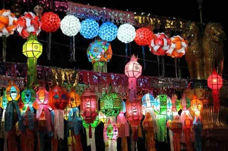 Mid-Autumn festival lanterns