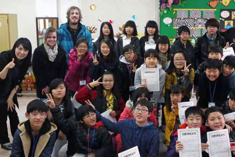 Working as English Teachers in South Korea