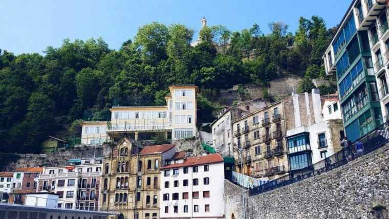 Architecture of San Sebastian city
