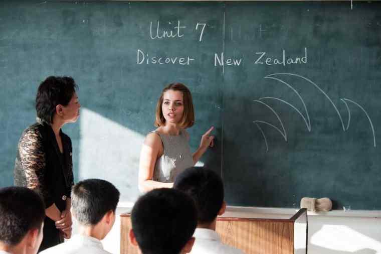 Teaching North Korean student
