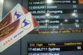 flights tickets to Pyongyang