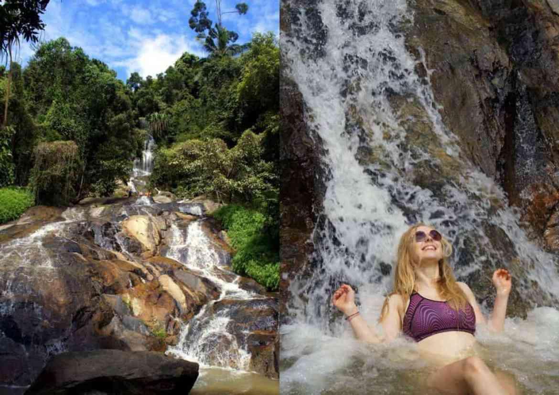Koh Samui waterfalls