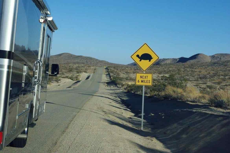RV trip us road
