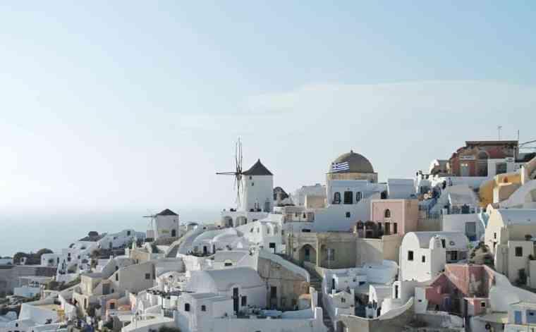 Greece buildings