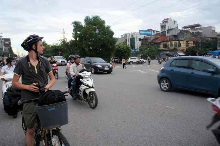 Cycling in Vietnam