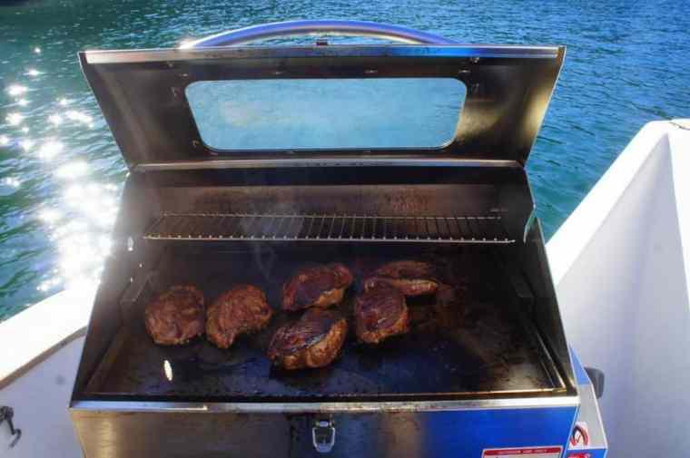 BBQ at Sydney Sensational Cruise