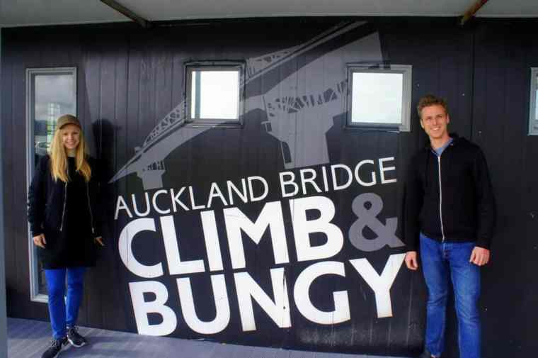 Auckland Bridge Climb and Bungy Tinggly
