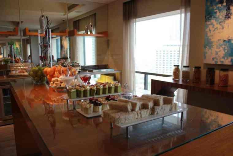 Snacks at the Renaissance by Marriott, Kuala Lumpur
