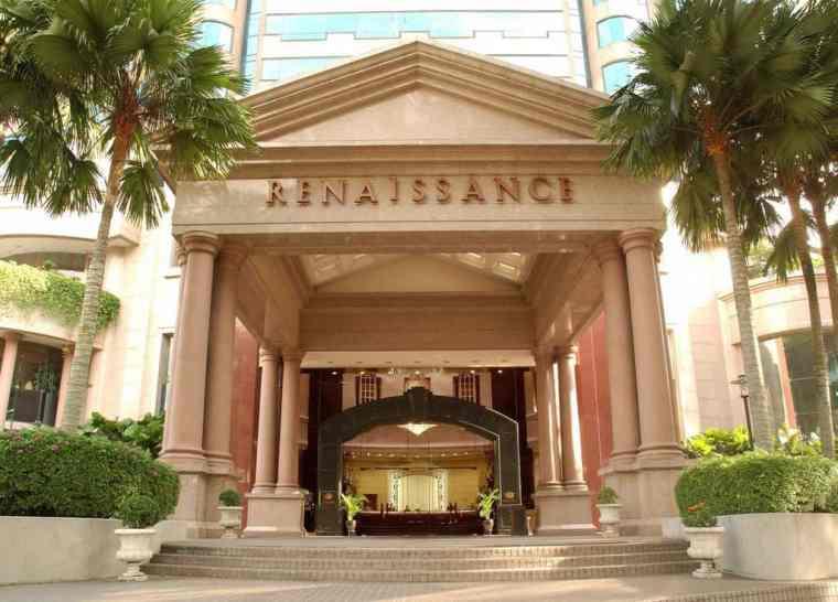 Main entrance, The Renaissance by Marriott, Kuala Lumpur